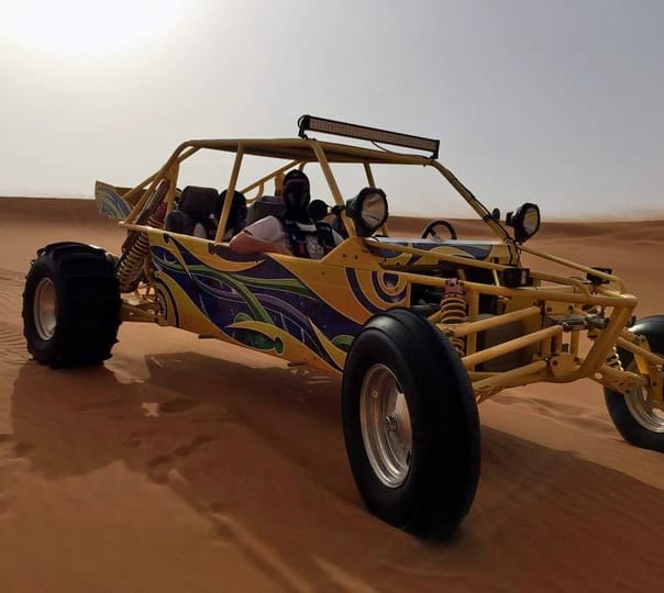 V8 Dune Buggy Ride in Dubai
