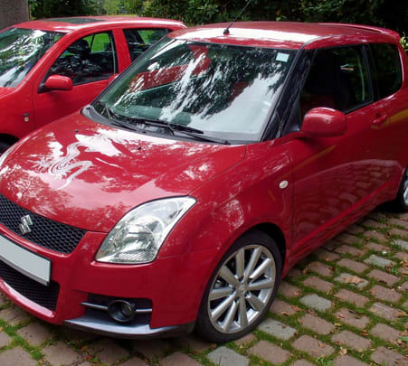 Rent a Maruti Swift in Delhi