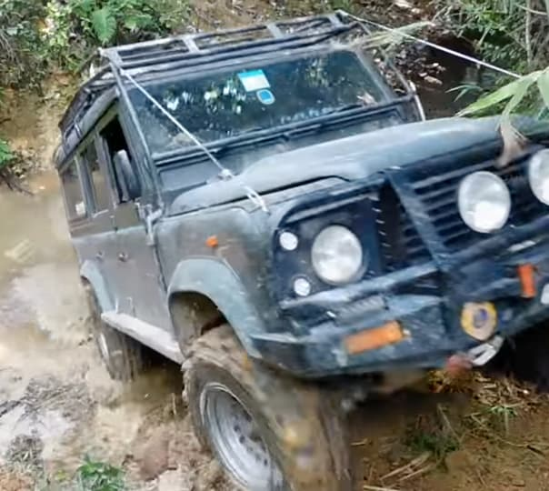 4x4 W D off Road Ride in Malaysia