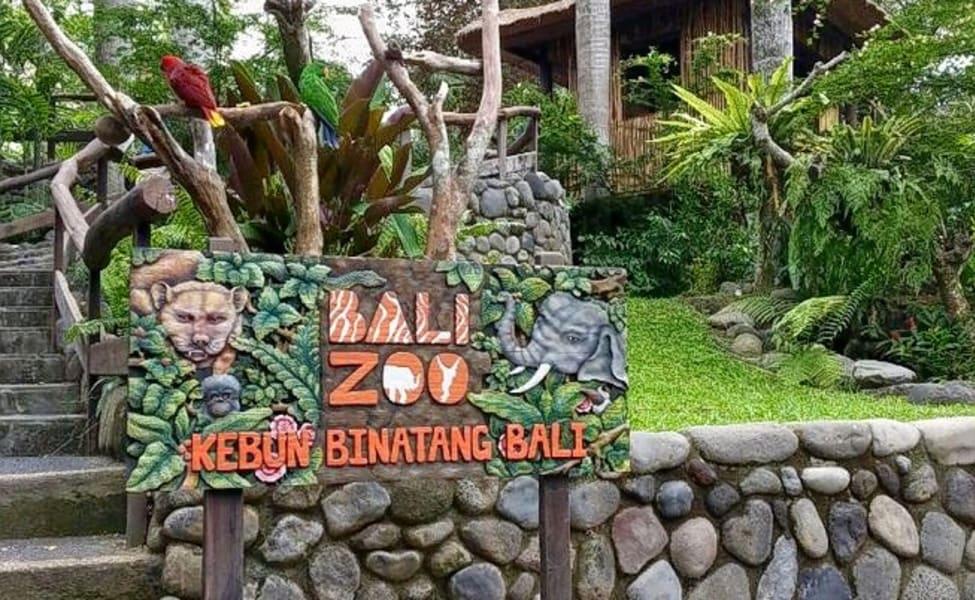 Bali Zoo Admission Ticket Flat 20% Off