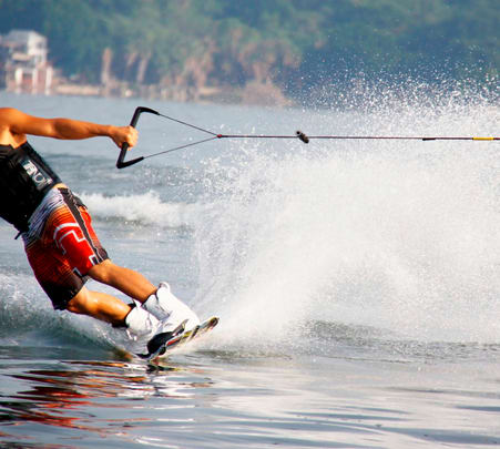Wake Boarding in Vietnam
