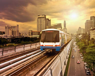 Bangkok Sky Train Pass - Flat 40% off