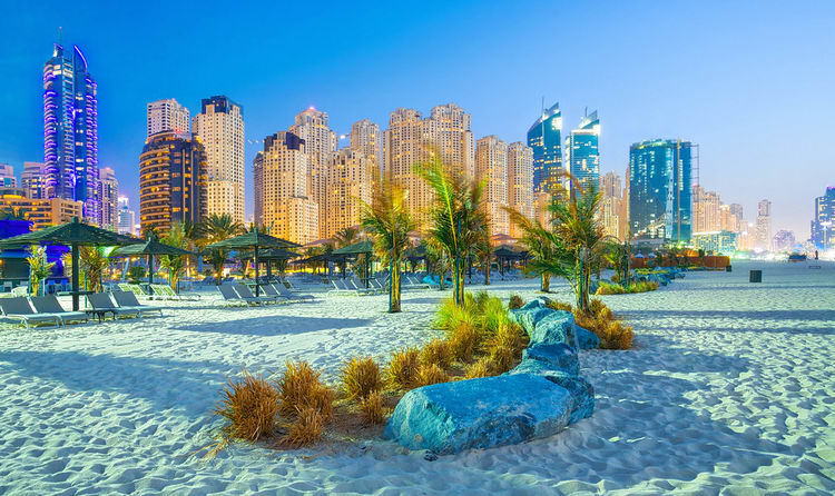 The Sun Kissed Beaches In Dubai Have Attracted Tourists From All Over World Because Of Spectacular View Persian Gulf