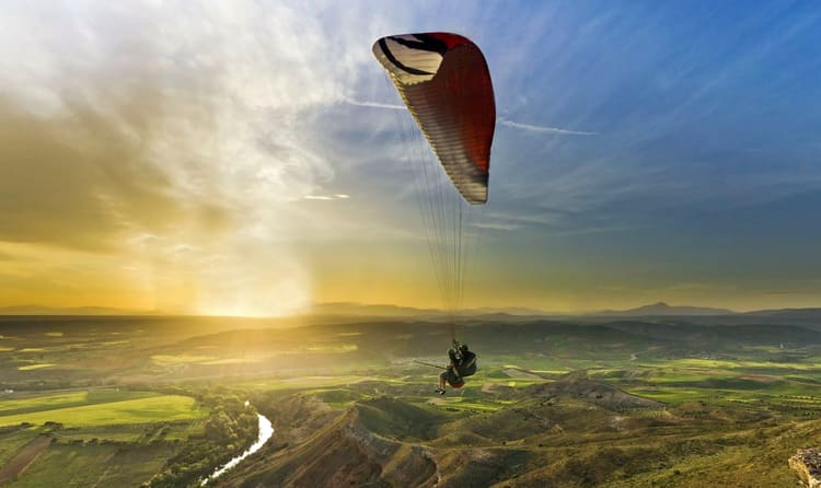 Experience Paragliding In Kerala