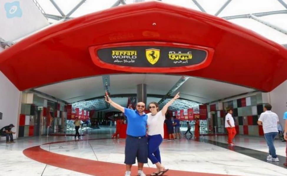 Full Day Ferrari World & Yas Island Water Park Abu Dhabi