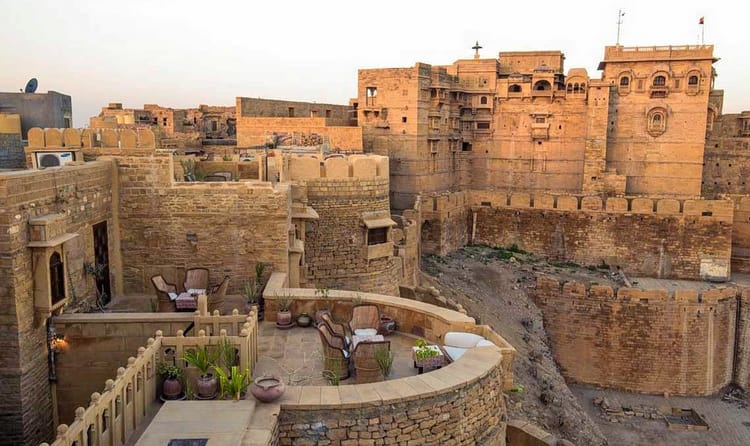 Hotel Killa Bhawan One Of The Greatest Resorts In Jaisalmer Is Best Place To Linger Fortress Golden City