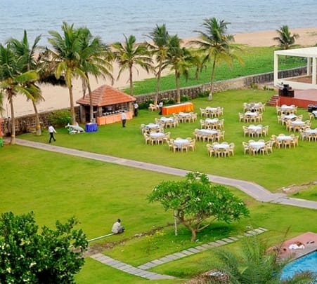 Day Outing at St. James Court Beach Resort, Pondicherry