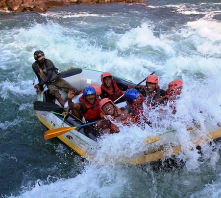 White Water Rafting in Teesta River, Sikkim