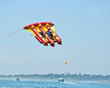 Flying Fish Boat Ride at South Kuta in Bali