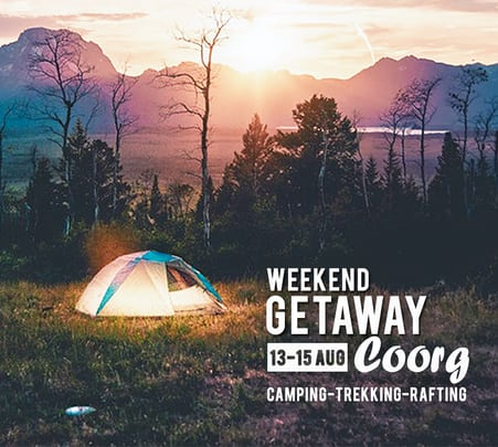 Camping in Coorg with Dubare Rafting