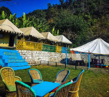 Valley View Camping and Rafting Experience in Rishikesh