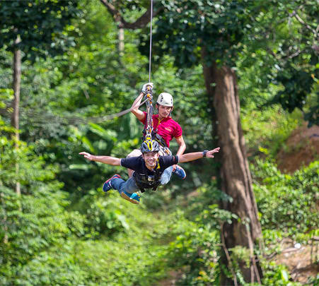 Tree Top Adventure Park Krabi Flat 20% off