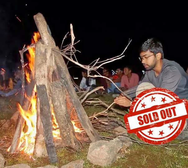 Night Camping near Pawana Lake: a Quiet New Year Eve