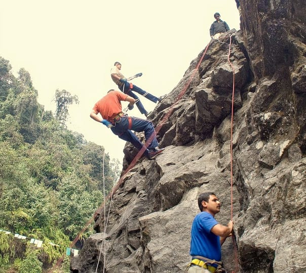 Experience Rock Climbing at Mount Abu