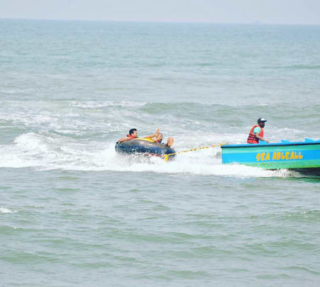 Bumper Ride at Calangute Beach, Goa - Flat 33% Off