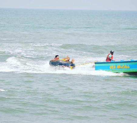 Bumper Ride at Calangute Beach, Goa - Flat 33% Off