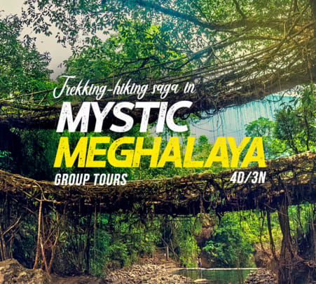 4 Days Tour of Mystic Meghalaya