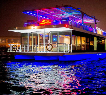 Dubai's 5* Luxury Dinner Cruise