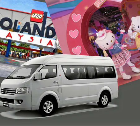 Legoland and Hello Kitty Town Transfer