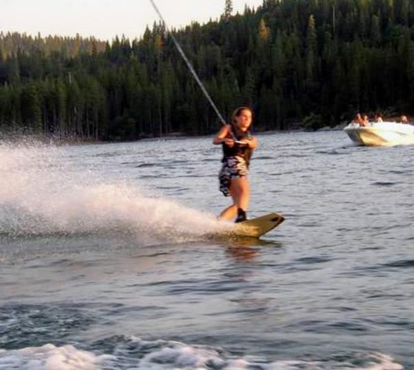 Wakeboarding in Little Palm Beach