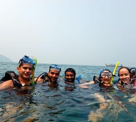 Scuba Diving at Grande Island, Goa