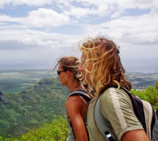 Hiking to Black River Peak in Mauritius