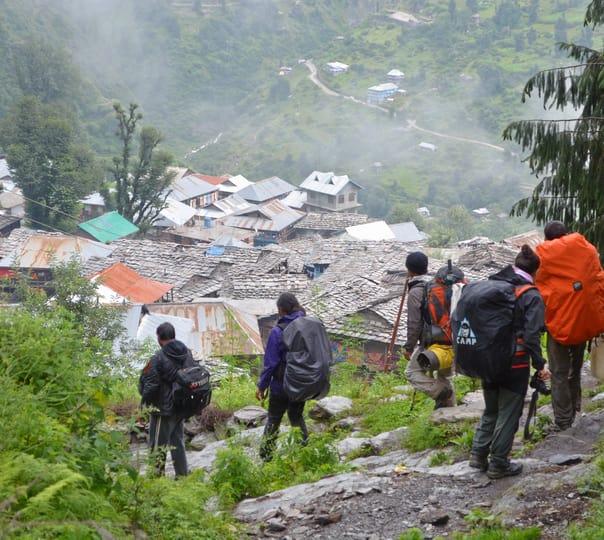 Trek and Camp at Malana