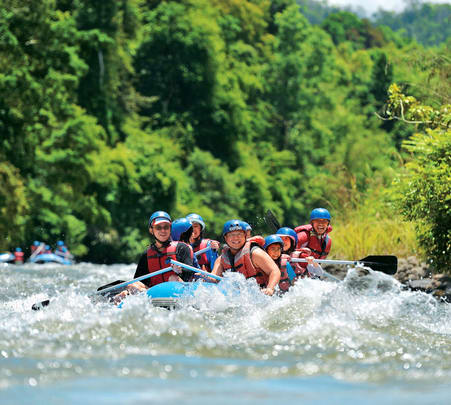 Kiulu White Water River Rafting, Sabah @ Flat 18% off