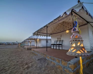 Desert Camping in Jaisalmer with Camel Safari Flat 44% off