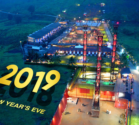 New Year Celebration at Della Adventure Park