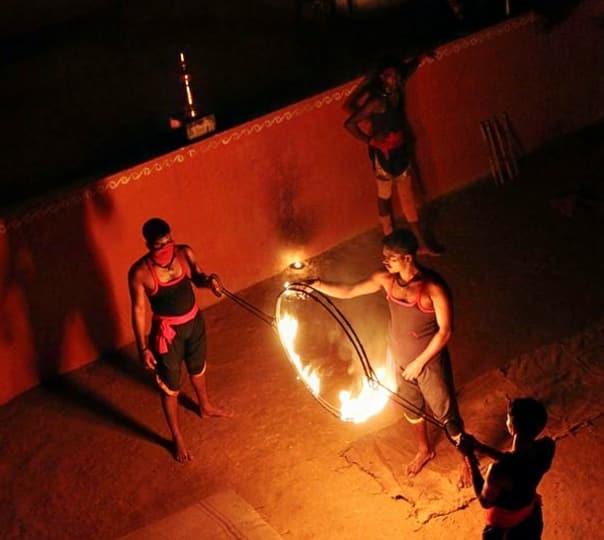 Kalaripayattu Show in Munnar