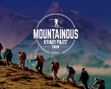 Kuari Pass Trek 2021, Uttarakhand | Book Now @ Flat 33% off