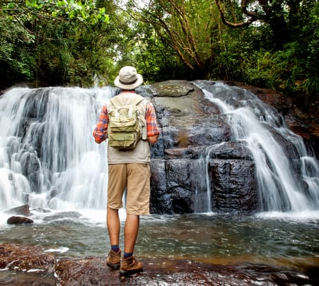 Waterfall Trekking in Knuckles Mountain Range Flat 25% off