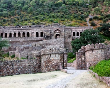 Day Trip to Haunted Bhangarh in a Private Car Flat 72% off