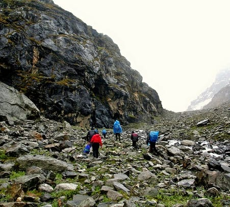 Trekking in Hampta Pass