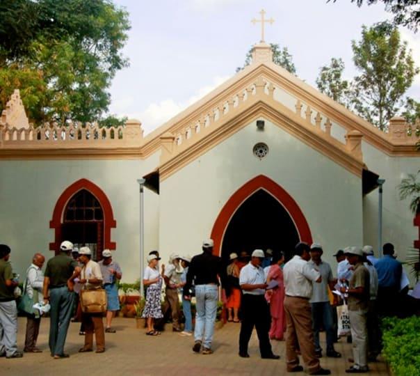 Cathedral Walking Tour, Bangalore