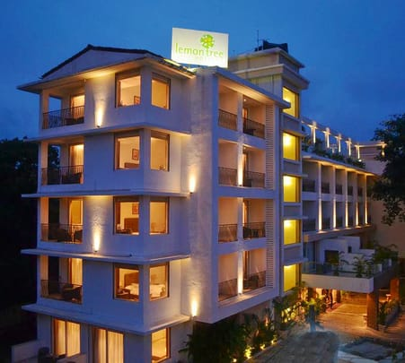 Luxurious Stay at Lemon Tree, Candolim in Goa Flat 49% off