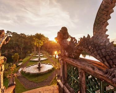 Premium Secret Garden and Waterfall Jump Tour, Bali
