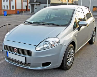 Rent a Fiat Punto in Hyderabad