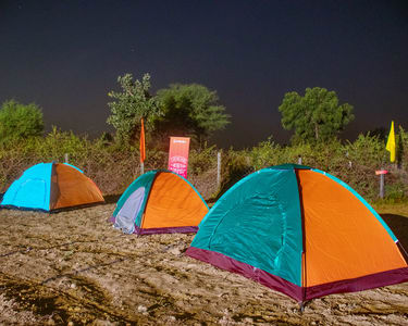 Camping with Night Trekking in Dense Forest, Bhopal