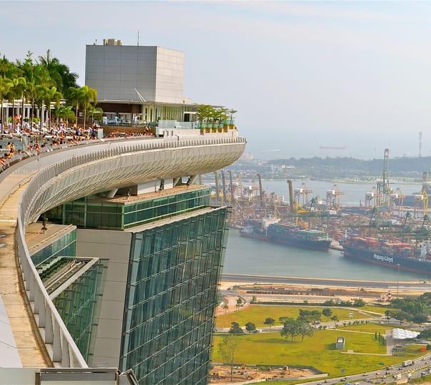 Skypark Observation Deck at Marina Bay Sands
