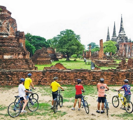 Bicycle Tour to Ancient City in Bangkok