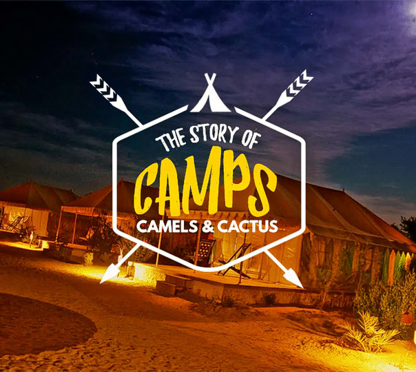Over Night Camping in Jaisalmer with Camel Safari