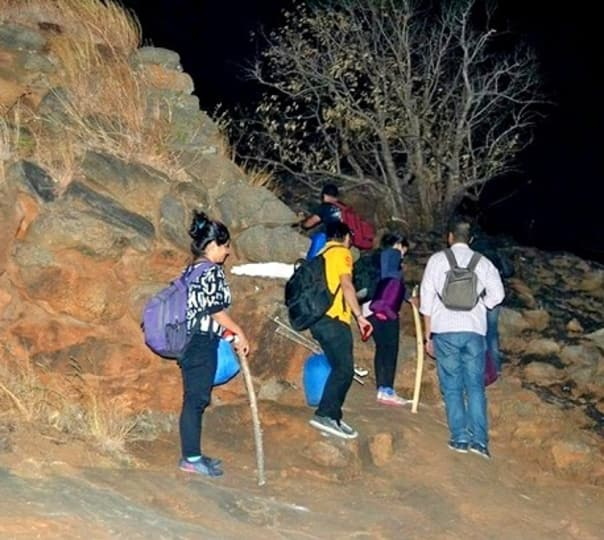 Kabbaladurga Night Trek in Kanakapura