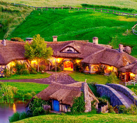 New Zealand Short Getaway with Hobbiton Special