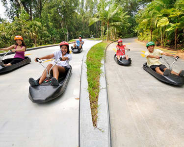 Ticket to Skyline Luge Sentosa and Skyride, Singapore Flat 30% off