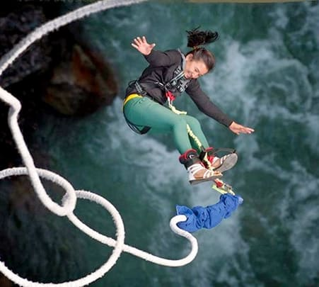 Bungee Jumping in Nepal - Flat 25% off