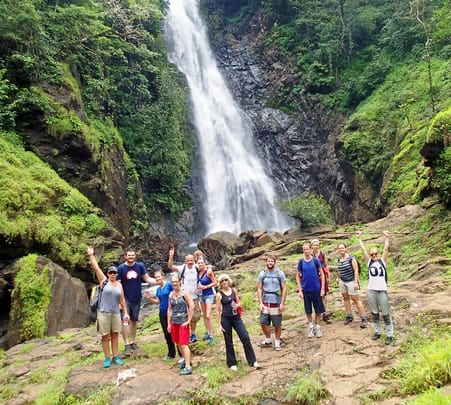Adventurous Trek to Todo Waterfall in Goa