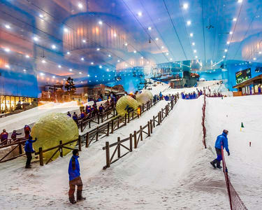 Ski Dubai Ticket in Emirates Mall - Flat 10% off
