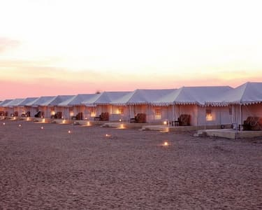 Luxury Desert Camping in Jaisalmer Flat 18% Off